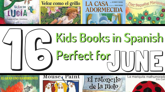 June Spanish Book List for Kids