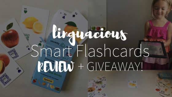 Linguacious Flashcard Game Review + GIVEAWAY