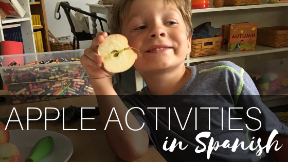 Apple Activities in Spanish