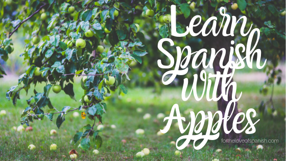 Learn Spanish with Apples