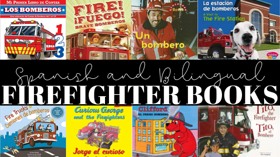 Books About Firefighters in Spanish
