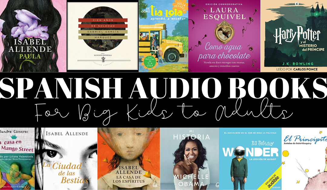 Spanish Audio Books on Audible