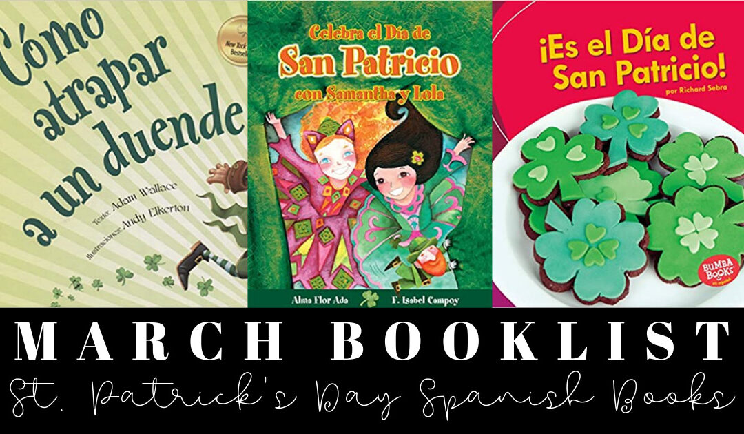 Books for St. Patrick's Day in Spanish